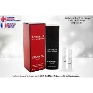Chanel Antaeus ( Original) | Eau De Toilette | 5 ML | Atomiser Spray Sample Tester Glass Bottle | Perfume