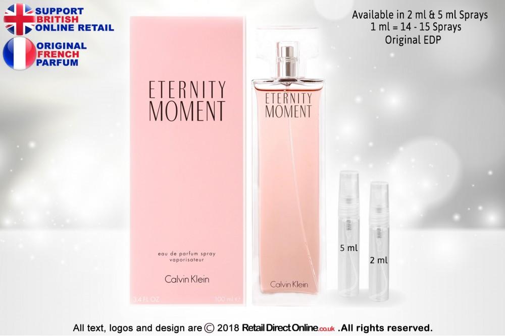 Eternity Moment Calvin Klein Original Eau De Parfum 5 Ml